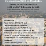 Inventario de GEI en Ciudades